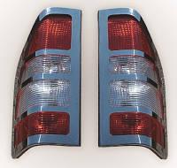 Mercedes Sprinter (2000 - 2006) Хром накладка на стопы (нерж.)