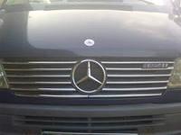Хром накладка на решетку радиатора Mercedes Sprinter