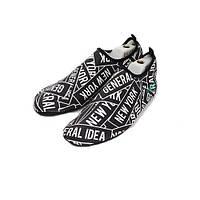 Обувь Actos Skin Shoes для спорта, йоги, плавания (NewYork Black)
