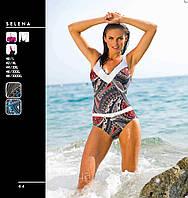 Цельный купальник с поясом от Madora,Selena