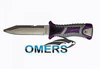 Нож VIKING для дайвинга и подводной охоты