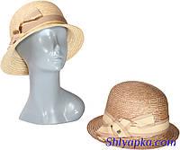Соломенная шляпа в стиле ретро
