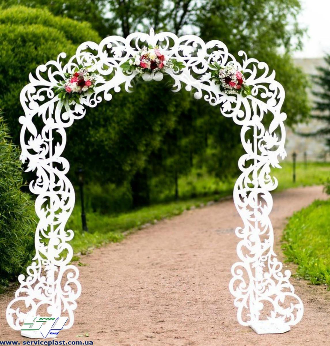 Как сделать арку для свадьбы из фанеры