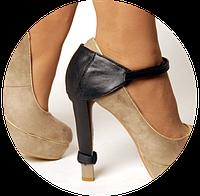 Автопятка для обуви на каблук Фулл (женская модель) чёрный цвет