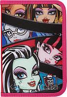 Пенал без наполнения (1 отд. 1 отв) KITE 2014 Monster High 621-2