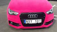 Пленка вельвет розовая KPMF Velvet Pink