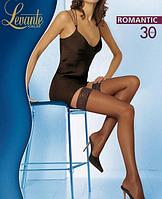 Чулки LEVANTE ROMANTIC 30 (черный,натуральный, кофейный, бронза, цвет загара, темно-серый) (2; 3; 4)