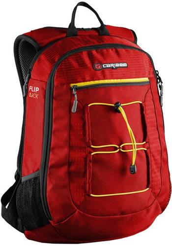 """Рюкзак для ноутбука 15,4"""", 26 л. Caribee Flip Back 26, 920637 красный"""