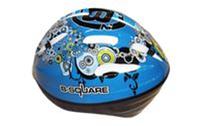 Велошлем детский RAD B2-018B (EPS, пластик, PVC, р-р S,M,L,XL регул, синий)
