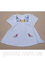 Платье туника вышиванка для маленькой девочки