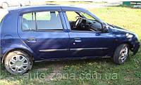 Ветровики Renault Clio Hb 5d 2005-2009; 2009 (Renault Symbol 2002-2008) дефлекторы окон