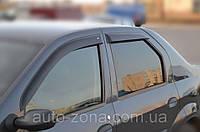 Ветровики Renault Logan Sd 2005 дефлекторы окон