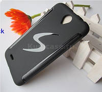 Силиконовый чехол-бампер для Lenovo A850 + защитная пленка