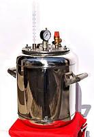 Автоклав Блеск Гибрид на 7 (1-литровых) или 16 (0,5-литровых) банок (Николаев) NIK