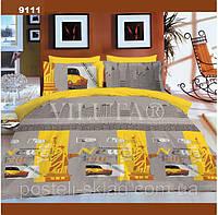 Постельное белье 9111 Нью Йорк ранфорс 100% хлопок ТМ Вилюта Украина статуя Свободы
