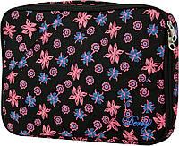 """Женский чехол для ноутбука 14,1"""" DERBY, арт. 0680245: черный, коричневый"""