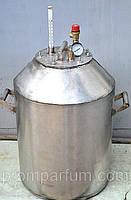 Автоклав промышленный НЕРЖ 45/70 на 48 (1-литровых) или 90 (0,5-литровых) банок (Николаев) NIK