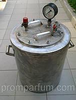Автоклав промышленный на 40 (1-литровых) или 80 (0,5-литровых) банок (Николаев) NIK