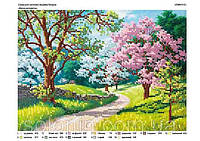 """Весна Колоритна"" Схема для вышивки"
