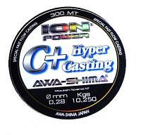 Леска AWA-SHIMA ION POWER C+HYPER CASTING 150m