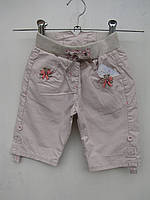 Бриджи-шорты для девочек  Корраловый цветочек