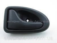 Ручка (черная) внутренняя водительская дверь Рено Мастер II (1998-2007) POLCAR (Польша) - 7700353282
