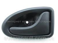 Ручка (черная) внутренняя пассажирская дверь Рено Мастер II (1998-2007) POLCAR (Польша) - 7700353283