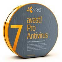 Программное обеспечение Avast Pro Antivirus 7