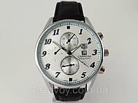 Мужские часы TAG Heuer - Carrera цвет корпуса серебро, серебристый циферблат, кварцевые