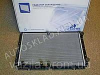 Радиатор охлаждения ВАЗ 1118 с конд. PANASONIC, Лузар (алюминиево-паяный) (LRc 01182b)