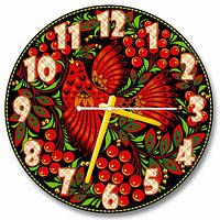 Часы настенные круглые арт2, 30х30 хороший Подарок