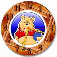 Часы настенные круглые арт3, 30х30 хороший Подарок