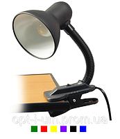 Настольная лампа на прищепке, цвета в наличии