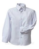 Рубашка Trend с длинным рукавом для мальчика р. 122 Белый Bebepa