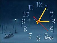 Часы настенные, прикольные 30х40 для кухни, гостиной, детской, спальни. Подарок