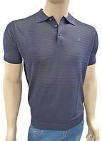 Легкая рубашка поло из шелка
