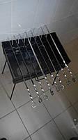 Мангал-чемодан на 8 шампуров, разборной