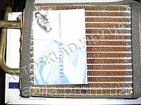 Радиатор печки ВАЗ 2101 медный, Лузар (LRh 0101c) без крана, 3-хрядн.