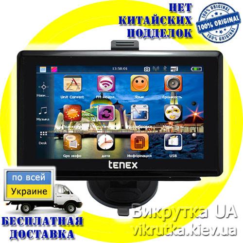 "GPS навигатор 5"" Tenex 50 L + карта на выбор (Libelle, Navitel)"