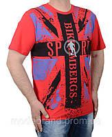Мужские спортивные футболки больших размеров  оптом и в розницу
