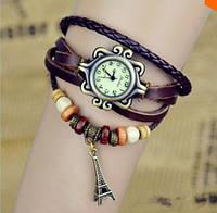 """Женские наручные часы модные наручные часы старинные часы кварцевые """"Эйфелева башня украшения"""" , женские часы копии"""