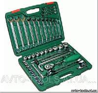 """Инструмент HANS. Набор торц головок 1/2"""" 8-32мм и комбиниров ключей 42 пр. (TK-42)"""