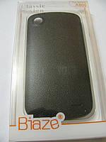 Чехол пластиковый для телефона Lenovo A880 чёрный