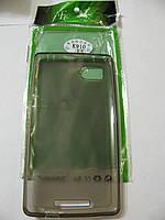 Чехол силиконовый + защитная плёнка для телефона смартфона Lenovo K910
