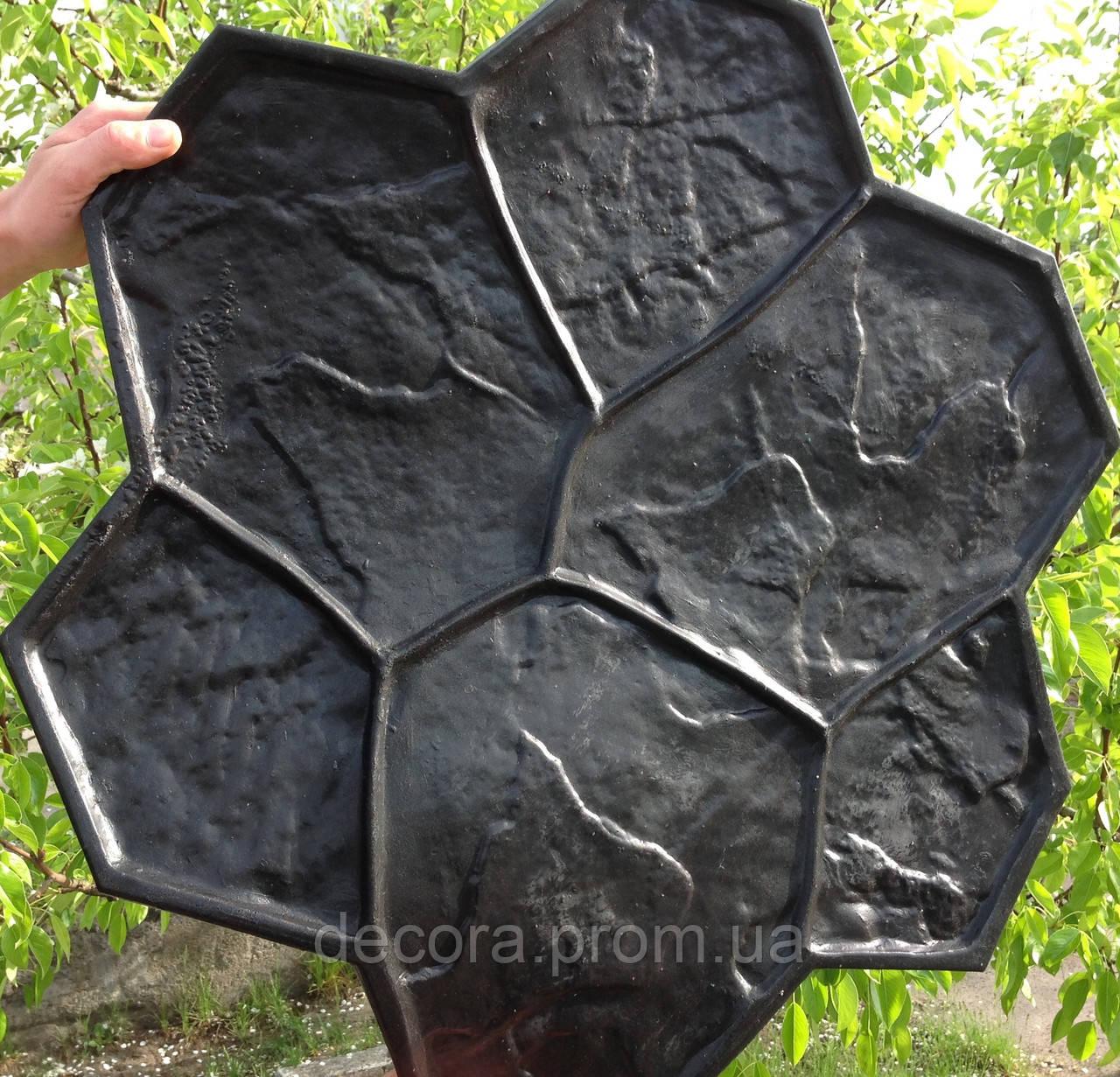 Полиуретановый штамп для бетона своими руками