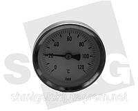 Термометр механический для котлов на твердом топливе