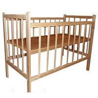 Кроватка детская КФ обычная без лака