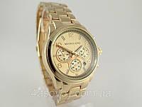 Часы женские Michael Kors цвет золото, индикация даты