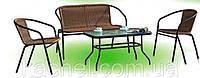 Комплект мебели из искусственного ротанга VALERI