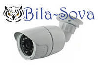 IP-видеокамера TSP-4836H с POE, уличная, 1.3 Mp (1280x960), f=3.6мм, ИК до 25 м, Tesla